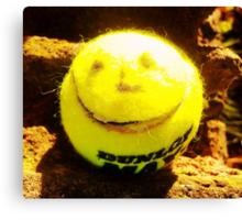 Smiling Tennis Ball- Unique Photography Canvas Print