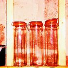 Red Jars- Unique Photography  by Vincent J. Newman