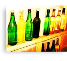 Wine Cellar Bottles- Unique Photography Canvas Print