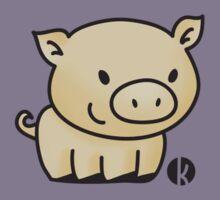 Cute little pig Kids Clothes