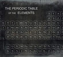 AGED PERIODIC TABLE by Daniel-Hagerman