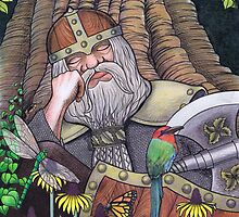 Sleeping Dwarf by Vicky Pratt