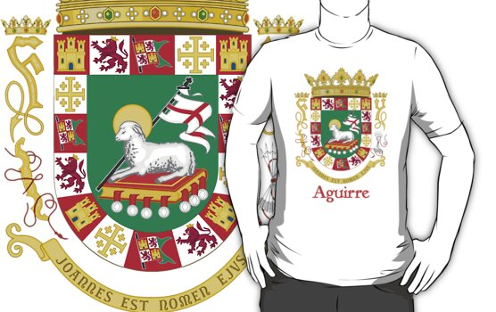 Aguirre Shield of Puerto Rico by William Martin