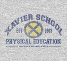 Xavier Gym Uniform T by G. Patrick Colvin