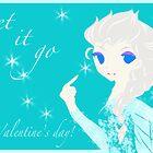 Elsa Valentine (Frozen) by littlemissluna