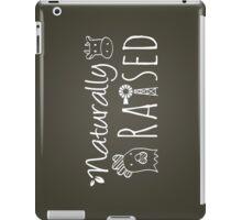 Naturally Raised Animals iPad Case/Skin