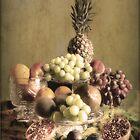 Vintage Fruit , Still life . by Irene  Burdell