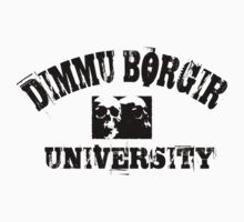 DIMMU BORGIR UNIVERSITY vintage t-shirt by Endlessgrief