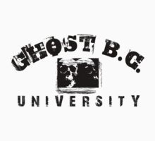 GHOST BC - UNIVERSITY VINTAGE T-SHIRT by Endlessgrief