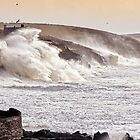 The Battering Of Porthleven by Storm Charlie 8.1.14 by Mike Honour