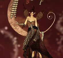 Whimsical Moon Fairy by Liam Liberty