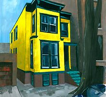 Yellow House Kingman Street by Anthony Billings