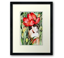 """The Tulip""  Framed Print"