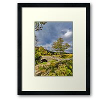 Birks Bridge Duddon Valley Framed Print
