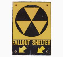 Fallout Shelter Sign  by mrdoomits
