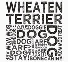 Wheaten Terrier by Wordy Type