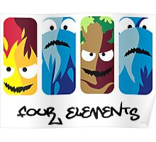 the four elements Poster