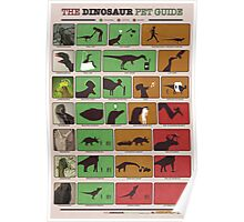 The Dinosaur Pet Guide Poster