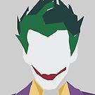 Minimalist Joker by hispurplegloves