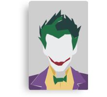 Minimalist Joker Canvas Print