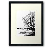 March Framed Print