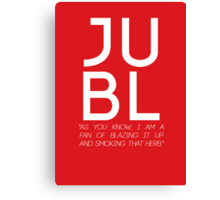 JUBL Canvas Print