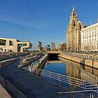Liverpool Water Front by George Standen