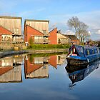 Lancaster Canal Reflections by towerphotos