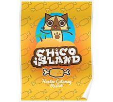Monster Hunter - Chico Island, Hunter Getaway Resort Poster