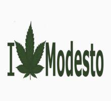 0254 I Love Modesto by Ganjastan