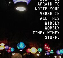 Wibbly Wobbly Lanterns by Amanda Mayer