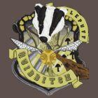 Hufflepuff Quidditch Pride by charlierose1991
