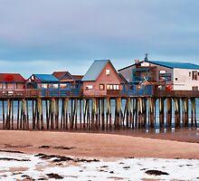Winter Pier by Richard Bean