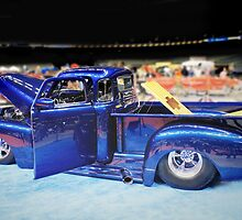 Electric Blue Custom Truck by BeautifulYouArt