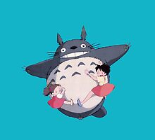 I-Totoro Mei and sister by Attare