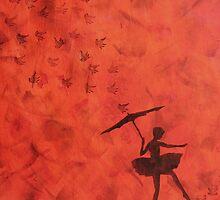 stencil ballerina by Perggals© - Stacey Turner