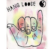 Hang Loose Photographic Print