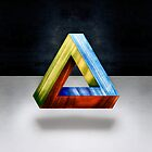 Penrose Triangle RGB by YoPedro