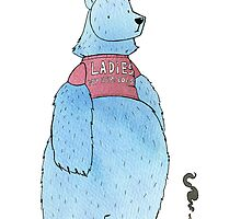 Birthday Bear by Rory Lucey