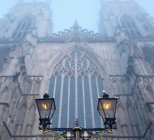 York Minster in the mist by LCarmody