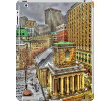 King's Chapel, Boston MA iPad Case/Skin