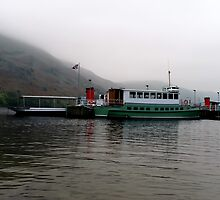 Misty Ullswater by English Landscape Prints