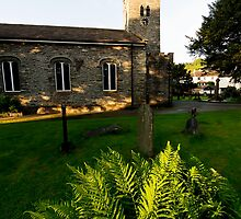Coniston Church by English Landscape Prints