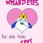 Valentines - Wizard Eyes by Rebecca Adams
