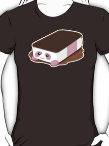 Cute Panda Bar Ice Cream - Strawberry T-Shirt