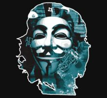 Anonymous Che Guevarra Blue by eyoop