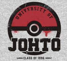 Pokemon - University of Johto (Grunge) by Chad D'cruze
