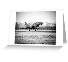 RAF Typhoon Greeting Card