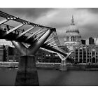 Millenium bridge and St Pauls  by markphotos1964