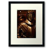 Armour in Glasgow Framed Print